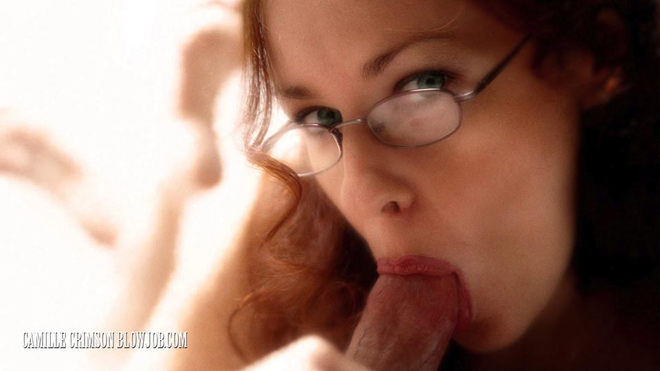 Librarian in Glasses Blowjob Fantasy